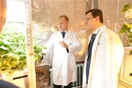 Глава региона посетил Самарский научно-исследовательский институт сельского хозяйства им. Н.М.Тулайкова