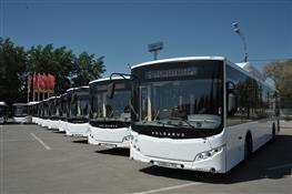 Николай Меркушкин передал автотранспортному предприятию Тольятти 60 новых автобусов