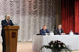Выездное совещание по развитию сельского хозяйства и перерабатывающей промышленности