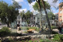 В центре Самары открыли Аксаковский сквер