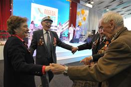 В честь участников Великой Отечественной войны прошел торжественный прием