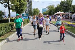 В Самаре масштабно отмечается всероссийский День физкультурника