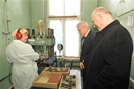 Николай Меркушкин посетил Чапаевский механический завод