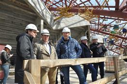 """На стадионе """"Самара Арена"""" начались отделочные работы"""