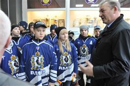 Во Дворце спорта состоялось открытие турнира на Кубок Владислава Третьяка