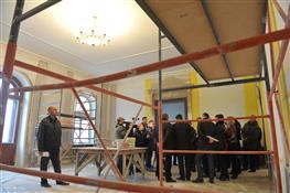 Областная комиссия осмотрела ход реставрации усадьбы Шихобалова