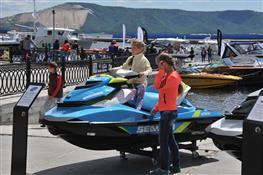 Выставка Volga boat show-2015