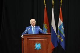 Николай Меркушкин встретился с педагогической общественностью Самары