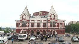 Самарцы попрощались с Александром Амелиным в драмтеатре