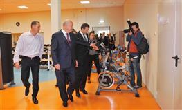 Губернатор принял участие в торжественной церемонии открытия физкультурно-спортивного комплекса с универсальным залом и бассейном в Новокуйбышевске