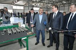 Дмитрий Азаров посетил Челно-Вершинский машиностроительный завод