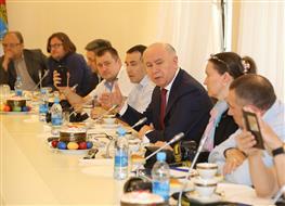 Николай Меркушкин встретился с представителями блогосферы региона