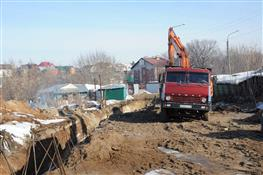 Строительство дублирующего канализационного коллектора к ЧМ вышло на финишную прямую