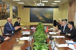 Губернатор обсудил перспективы сотрудничества с представителями российско-китайской корпорации