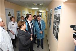 Глава региона посетил Клявлинскую центральную районную больницу.