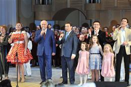 Губернатор спел с Иосифом Кобзоном