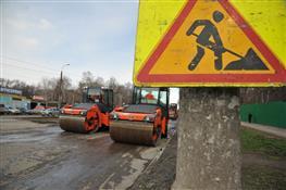 В Самаре приступили к укладке нового дорожного покрытия на ул. Ново-Вокзальной