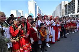 В Волгаре отметили праздник Дружбы народов