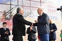 Николай Меркушкин открыл XIX Поволжскую агропромышленную выставку