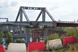 Фрунзенский мост в сентябре 2018 года
