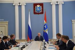 Николай Меркушкин провел совещание, посвященное проектированию и строительству ФОК в Комсомольском районе Тольятти