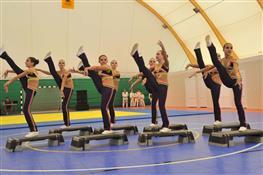 В Красноярском районе открыли новый универсальный спортзал