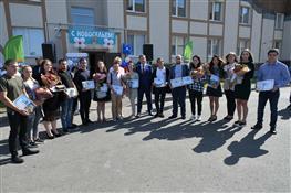В Самаре 14 детей-сирот получили ключи от квартир