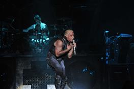 "Группа Rammstein вышла на сцену ""Рока над Волгой"""