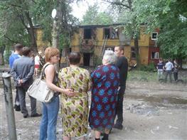 В Самаре на ул. Дальневосточной произошел крупный пожар, погиб человек