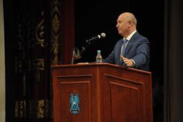 Николай Меркушкин принял участие в августовской областной педагогической конференции