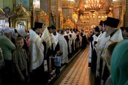 В Самаре состоялся Крестный ход в честь Святителя Алексия