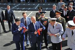 Торжественное открытие кадетского корпуса МВД РФ в поселке Управленческий