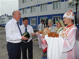 Николай Меркушкин раскритиковал качество работ в образовательном центре Камышлы
