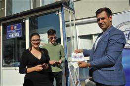 На выборах работают представители Молодежной избирательной комиссии Самарской области