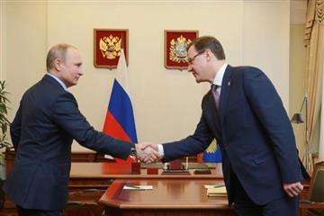 Строительство моста через Волгу стартовало после встречи Путина и Азарова 7 марта