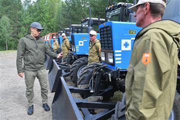 Новая лесохозяйственная техника поступила в Удмуртию