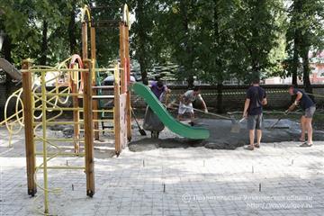 В Ульяновской области приступили к благоустройству 80 дворов и 11 общественных пространств