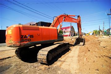 В оренбургском Соль-Илецке возобновлены работы по реконструкции улиц в рамках развития внутреннего туризма