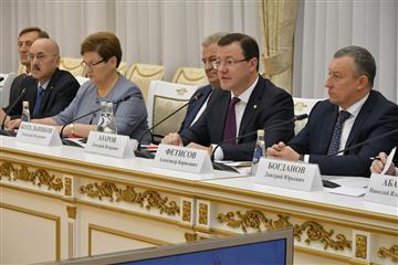 Два комитета Совета Федерации впервые провели совместное выездное заседание в Самарской области