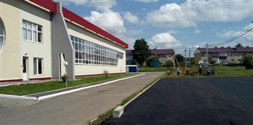 В Абдулинском ГО приступили к монтажу площадки ГТО