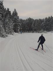 В Выксе организовали лыжные трассы на территории благоустроенных по нацпроекту общественных пространств