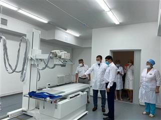 Рентген-кабинет и кабинет флюорографии с новейшим медицинским оборудованием открылись в Стерлибашевской центральной районной больнице