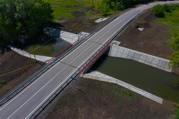 В Самарской области завершены работы по реконструкции двух мостов