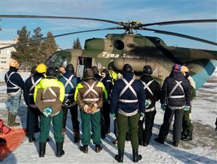 Пермский парашютист-десантник принял участие во Всероссийских тренировках по тушению лесных пожаров