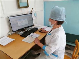 Чураевская амбулатория получила новые компьютеры