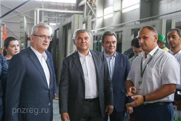 Работа завода панельного домостроения в Пензе поможет решить задачи нацпроекта