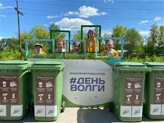 В Нижнем Новгороде в рамках Всероссийской экологической акции очистили берег реки Борзовки