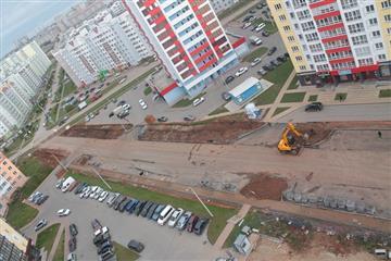 В Кирове в рамках нацпроекта продолжается строительство улиц