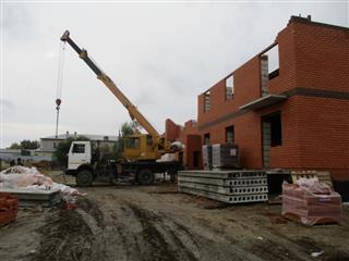 В Большеберезниковском районе Мордовии строится дом для переселения граждан из ветхого жилья