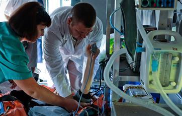 В Новгородской области впервые эвакуировали пациента санавиацией на догоспитальном этапе